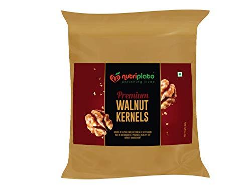 Nutriplato-enriching lives Premium Walnut Kernels, 250 g