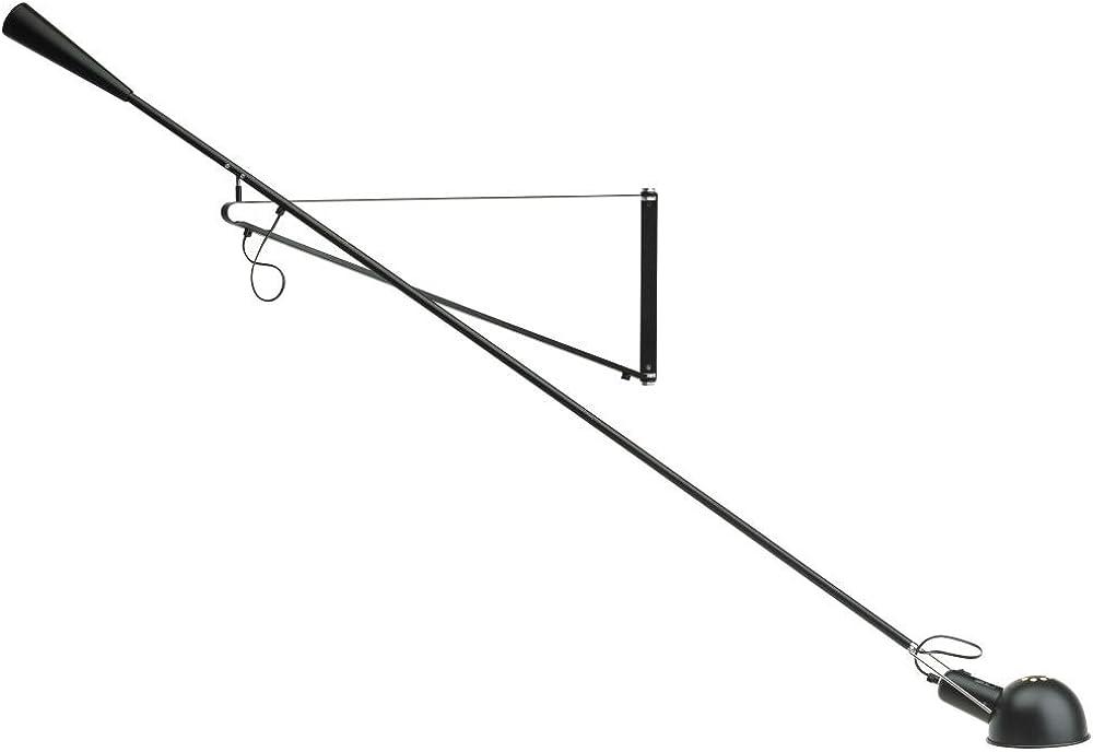 Flos 265 lampada da parete orientabile nero paolo rizzato design A0300030