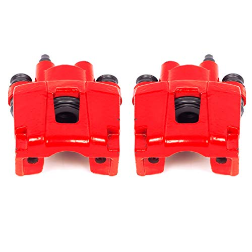 Power Stop S4754 Performance Powder Coated Brake Caliper Set For Ford, Mercury, Jeep Lincoln