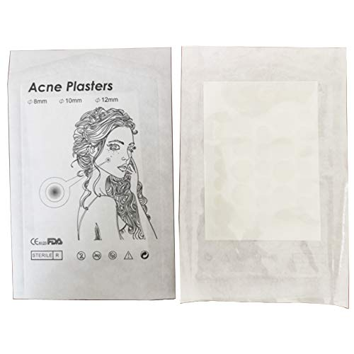 2 Stks Acne Pleisters Puistje Master Patch, YIY Koreaanse 24 Patches Cosmetica Make-up Puistje Behandeling Life Savers