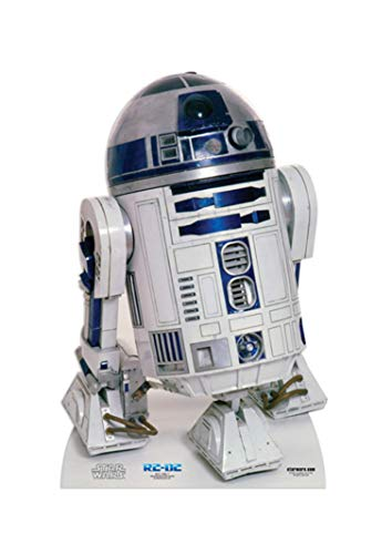 Star Cutouts Ltd SC4001 Droid R2-D2 Classic New Hope for Star Wars Fans, Höhe 91 cm, mehrfarbig