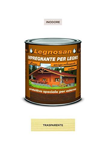 Veleca LEGNOSAN Trasparente- ml. 750 IMPREGNANTE PER LEGNO ALL'ACQUA INODORE