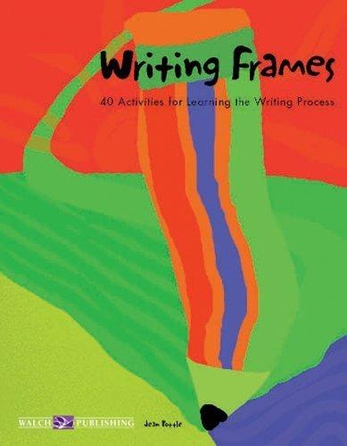 Writing Frames by Jean L. Pottle (1999-01-06)