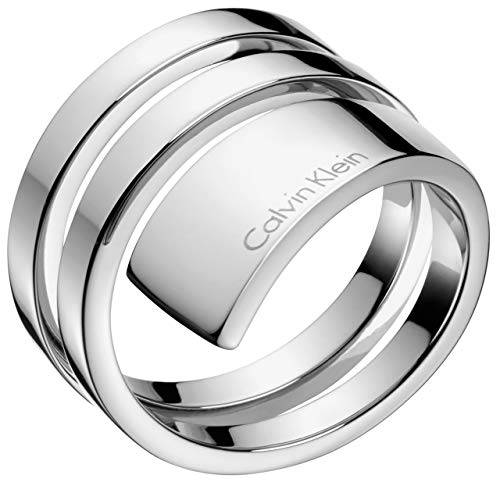 Calvin Klein Damen-Damenring Beyond Edelstahl 57 Silber 32004366