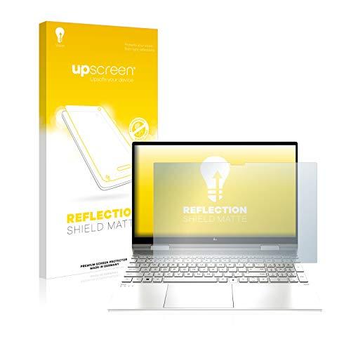 upscreen Entspiegelungs-Schutzfolie kompatibel mit HP Envy x360 15-ed1779ng – Anti-Reflex Bildschirmschutz-Folie Matt