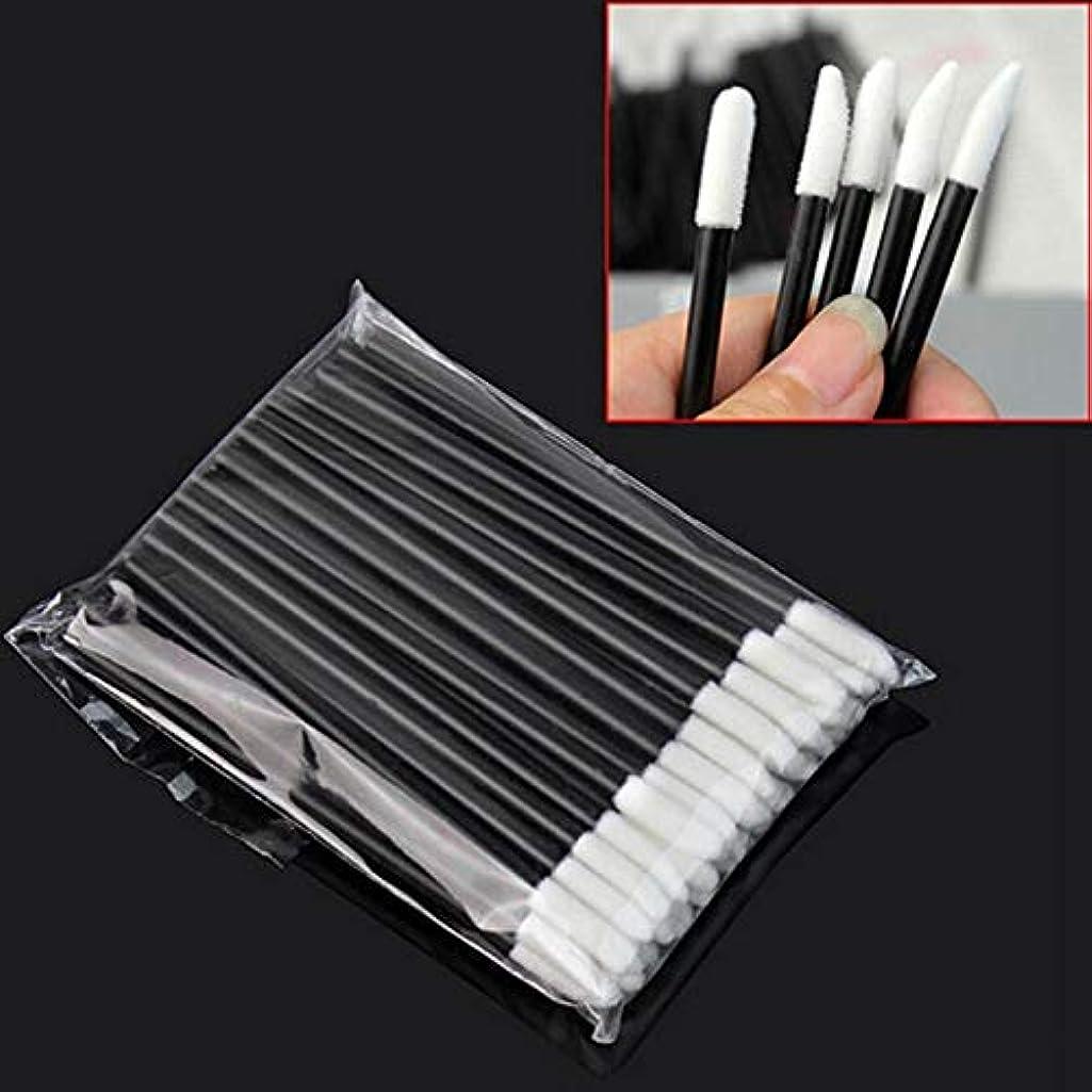 Plastic Makeup Brushes | Disposable Lip Brushes | Synthetic Hair Brushes | Full Size Lipsticks, Lip Brushes (50pcs)