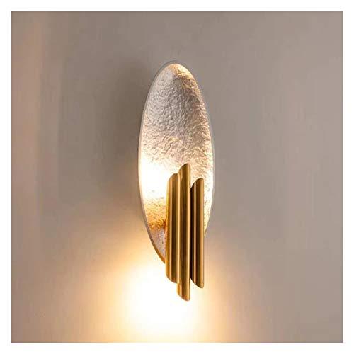 Lámpara de Pared Moderna Para Interior Luz de lujo simple Lámpara de pared Lámpara de pared posmoderna Pasillo Lámparas de pared de pared de 17.7 pulgadas Alto Dormitorio creativo Lámpara decorativa d