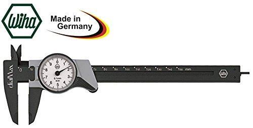 Messschieber 59201 Anzeige Rundskala Fiberglas Messbereich 0-150mm DIN 862 Anzeige Rundskala 862 Fiberglas
