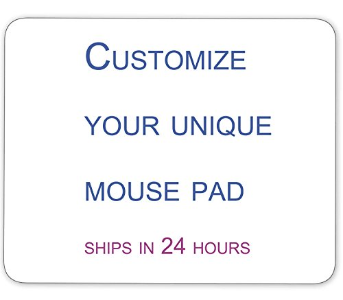 Customized Personalized Mouse Pad - Add Your Family Photos, Pictures of Your Loved Ones, Your own Artistic Works,Logo, Make Your Unique Mouse Pad (9.5 inch x 7.9 inch)