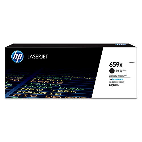 HP 659X (W2010X) High Yield Black Original Laserjet Toner Cartridge