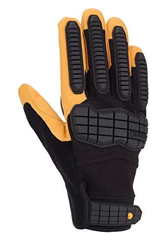 Carhartt Men's Ballistic Glove, black barley, Large