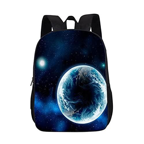 UKKO Zaino per Bambini School Bags Sky Schoolbag Zaino Femminile per Studenti Elementari E di Scuola Media-F