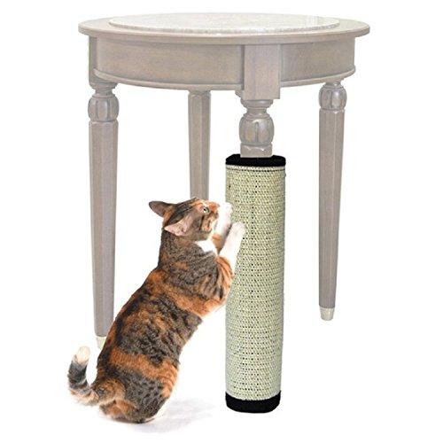 Ducomi® Felis Gattus Kratzteppich aus natürlicher Sisalfaser– ideal für Tischbeine und Möbelstücke – Stimuliert die Neugier und das Interesse der Katze – 40 x 30 cm