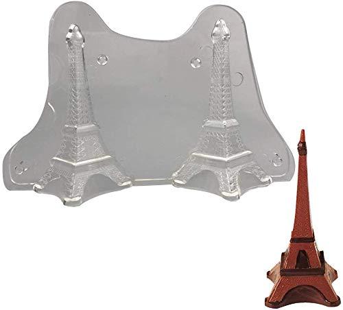 ANNIUP Silikon-Form Eiffelturm, 3D-Silikonform, für Fondant, Kuchen, Gelee, Basteln, Schokolade, Süßigkeiten