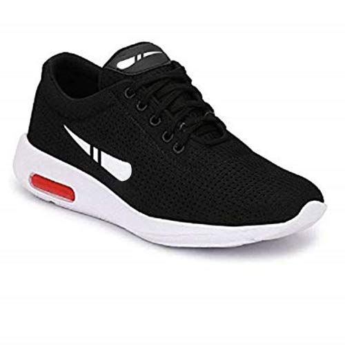 TYING Men-1200 Black Top Best Rates Training Shoes,Sports Shoes, Running Shoes for Men,Cricket Shoes,Casual Shoes,Loafers Shoes,Sneakers Shoes,Light Weight, Football Shoes,Comfortable for Men's