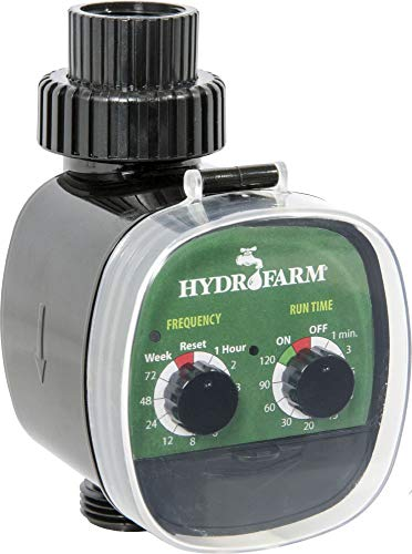 Hydrofarm HGWT Electronic Water Timer, Black and Green