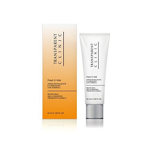 Transparent Clinic - Fresh C-Vital - Crema revitalizante e iluminadora con vitamina C - 50 ml