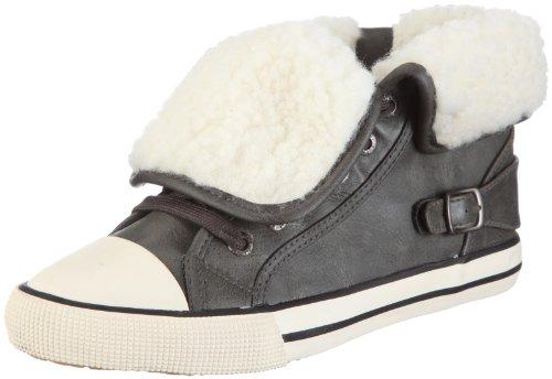 ESPRIT Benny Fur Lu Bootie U12711, Unisex - Kinder, Sneaker, Grün (olive 308), EU 33