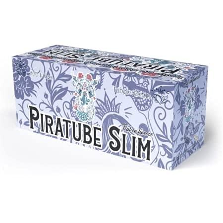 Piratube Slim - Caja de 500 tubos para cigarrillos Slim