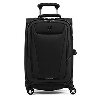 "Travelpro Maxlite 5 Lightweight Carry-on 21"" Expandable Softside Luggage Black, 21-inch"