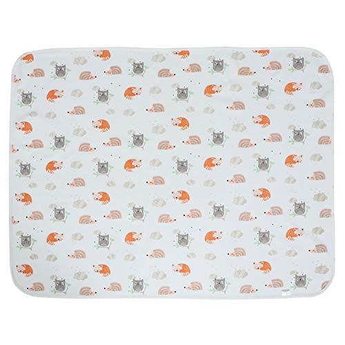 Toddmomy Baby Windel Wickelauflage Inkontinenz Pad für Bettnässen Wasserdicht Waschbar Weiche Baumwolle Windel Liner Matten für Kleinkinder Neugeborene Ältere Menschen
