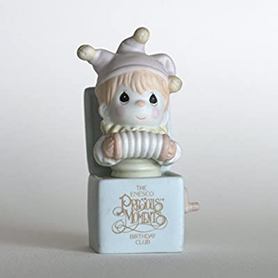 """Precious Moments """"Jest to Let You Know You're Tops"""" Birthday Club Figurine"""