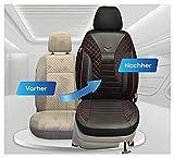 Fundas de asiento compatibles con Mercedes Vito W447, conductor y copiloto, número de color: PS802