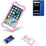 K-S-Trade® Mobile Phone Bumper For Oukitel K8000 Silicone
