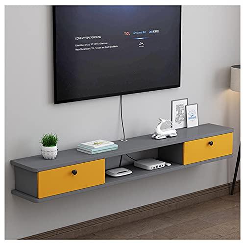 WFENG Muebles televisor Colgantes,Gran Carga,Resistente a la Suciedad y Estable,No se Oxida Fácilmente es Duradero/B / 100×22×19cm
