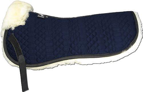 Engel Gerhommey Demi-Chabraque DE en Peau de Mouton Couleur Coton Bleu (Sakis 1) Combinez-Vous avec 12 Coleur de Peau de Mouton