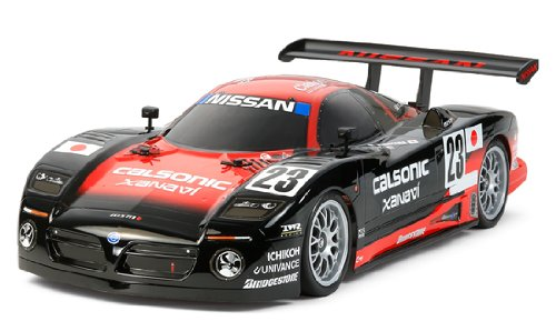 Electric RC Car Series No.544 NISSAN R390 GT1 1/10 (TT-01 chassis TYPE-E) 58544 [Japan Import] by Tamiya