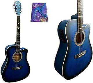 جيتار كهربائي صوتي، لون ازرق - موديل HS-4140