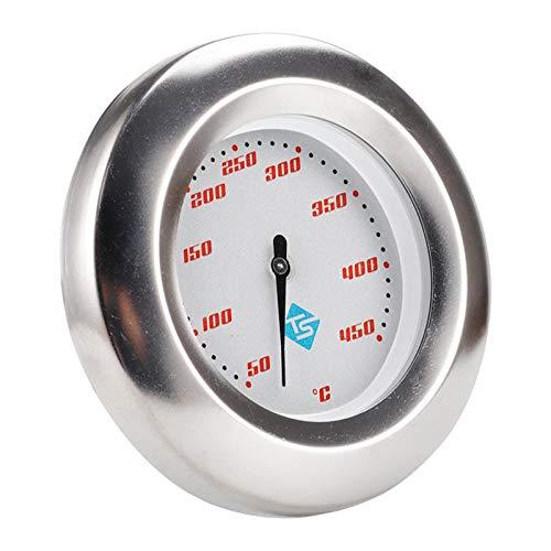 MERIGLARE Termómetro de Parrilla de Barbacoa de 3'Dial 50-450 Celsius Gauge Temperatura del Fumador