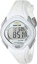 Timex Women's TW5M12400 Ironman Sleek 30 White Resin Strap Watch