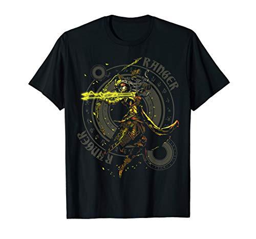 Elven Ranger Archer Fantasy Roleplaying Dungeons RPG Gamers T-Shirt