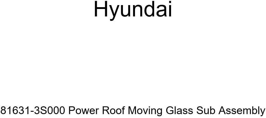 Hyundai 81631-3S000 Power Las Vegas Mall Roof Assembly Moving Glass Sales of SALE items from new works Sub