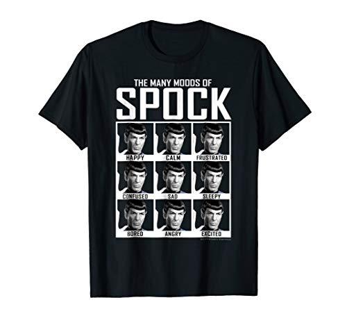 Star Trek Original Series Moods of Spock Graphic T-Shirt