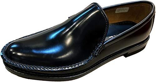 [リーガル] 手縫いモカのコブラヴァンプ スリッポン 15DR BC ビジネスシューズ ブラック 25.5cm