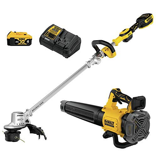 DEWALT DCKO222M1 String Trimmer/Blower, Yellow/Black