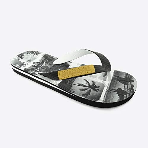 Chanclas de Playa BRASILERAS®,Gin Surf Suela Antideslizante del 39 al 46. Hombre para Interior/Exterior. Zapatos de Piscina
