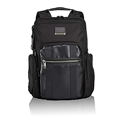 TUMI - Alpha Bravo Nellis Laptop Backpack - 15 Inch Computer Bag for Men and Women - Grey Highlands Print