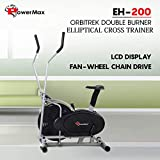 Powermax Fitness Elliptical Cross Trainer EH-200 Orbitrek Exercise Cycle and Elliptical Cross Trainer