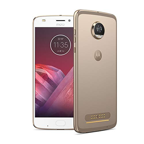moto z2 play 13,97 cm (5,5 Zoll) Full HD Smartphone (Octa-Core Prozessor, 12MP Kamera, 4G LTE, NFC, 64GB Speicher, JBL SoundBoost, Dual-Nano-SIM, Android 7.1 Nougat) Gold