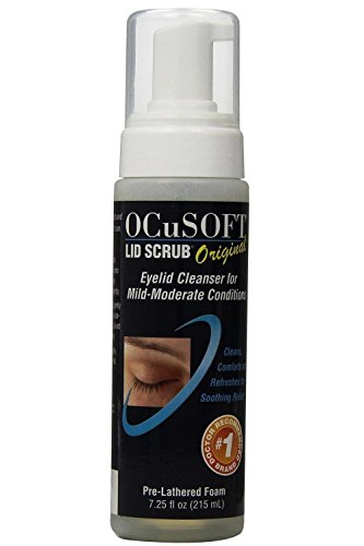 Ocusoft Lid Scrub Foaming Eyelid Cleanser, 7.25 fl oz (Pack of 3)