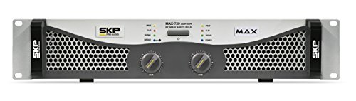 Great Features Of SKP Pro Audio Max-720 Stereo Output RMS Power 250 W Plus 250 W Powered Amplifier