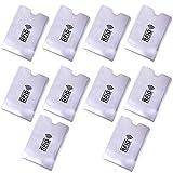Steellwingsf 10Pcs portatile anti-Scan credito RFID titolare della carta protettiva anti-magnetico titolare borsa per le donne uomini