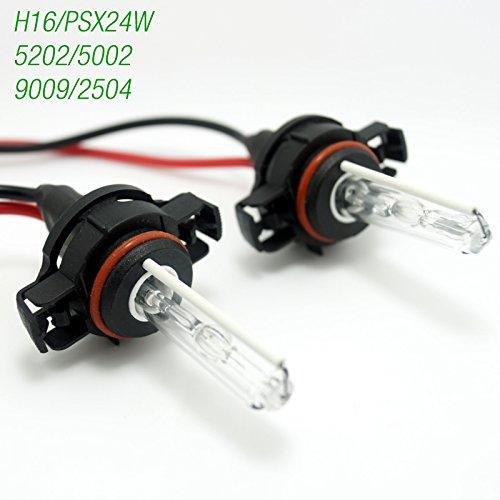 Feeldo Auto 12 V/35 W H16/Psx24 W/5202/5002/9009/2504 ampoule lampe de voiture Xenon HID Ampoule