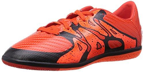 adidas Performance Jungen X15.3 IN Fußballschuhe, Rot (Bold Orange/FTWR White/Solar Orange), 28 EU