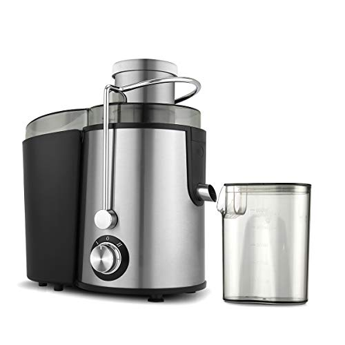 Molife Stainless Steel Centrifugal Juicer (Xtractor) 600 W Dual Lock and Two...