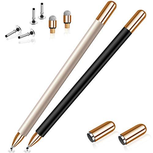 MEKO - Penna stilo per iPad, pennino capacitivo per touch screen, pennino magnetico, alta sensibilità e punta fine, universale, per iPhone/iPad Android/Microsoft/e tutti i dispositivi
